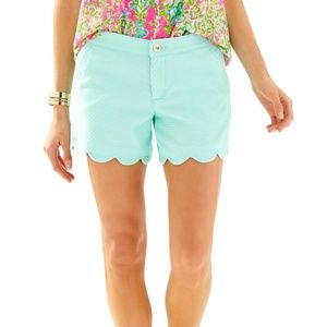 Lilly Pulitzer Buttercup Shorts Mint